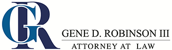 Gene Robinson Law, PLC Header Logo